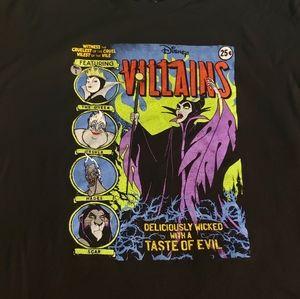 Disney Villans Comic Tshirt